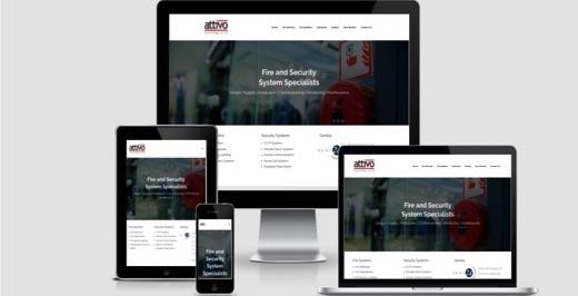 Attivo responsive website