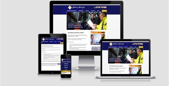 John K Philips responsive website