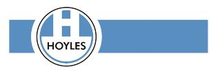 Hoyles logo