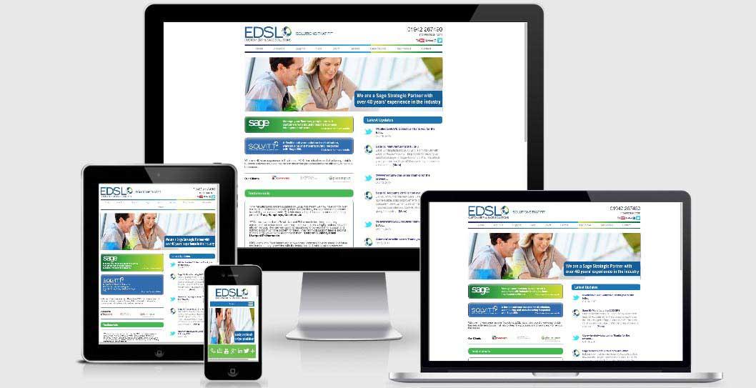 EDSL responsive website
