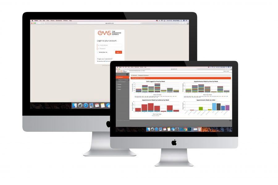 EMS web app