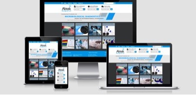 Abtek Biologicals responsive website