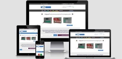 Hoyles responsive website