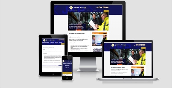 John K Philips responsive website